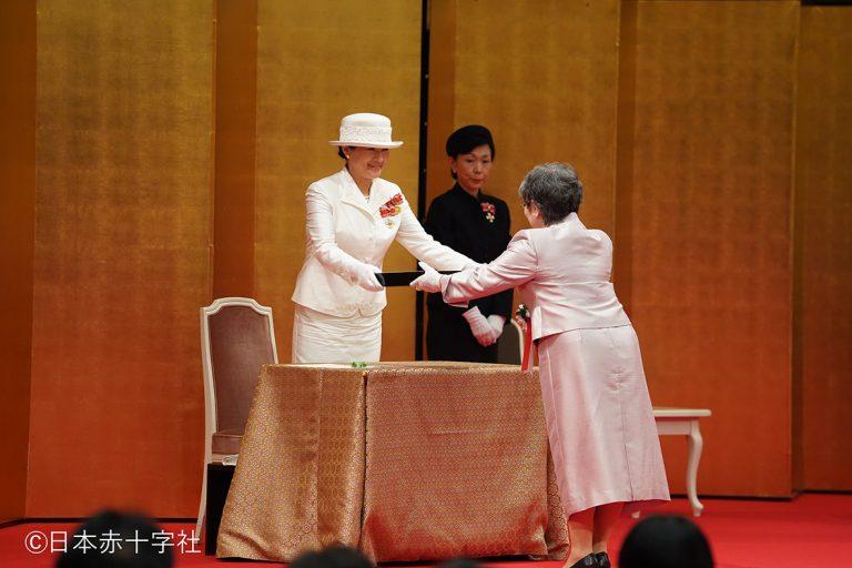第47回フローレンス・ナイチンゲール記章 授与式が行われました