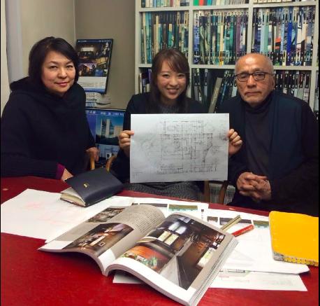 阿部勤先生の建築事務所を訪問