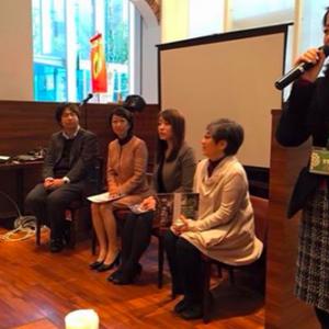 日本医療政策機構主催の朝食勉強会